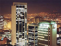 Medellin at night